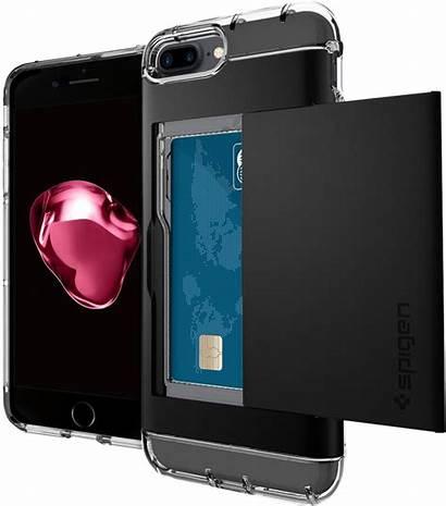 Iphone Wallet Case Plus Spigen Crystal Cases