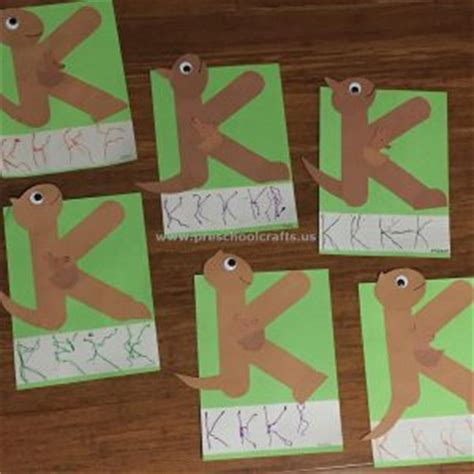 letter k crafts alphabet craft for and preschool preschool and 79023