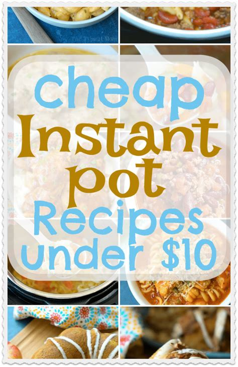 cheap instant pot recipes  families feeds