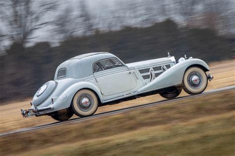 The first prototype autobahn kurier was displayed in 1934, at berlin motor show. Mercedes 500K et 540K - Der Kaiser ! De l'essence dans mes veines