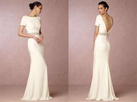 20 Simple Yet Beautiful Wedding Dresses For Modern Brides
