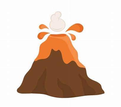 Volcano Clipart Clip Background Library Arts