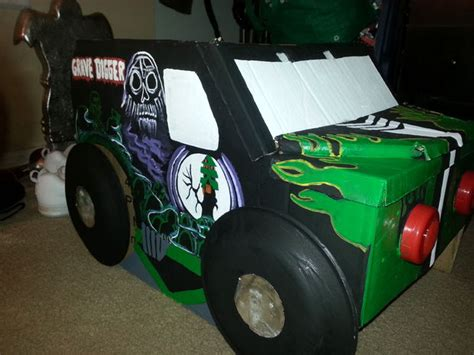 grave digger costume monster truck grave digger monster truck costume