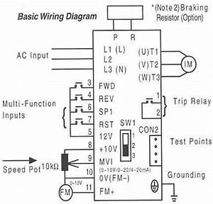 Saftronics S10  U2013 Basic Wiring Diagram