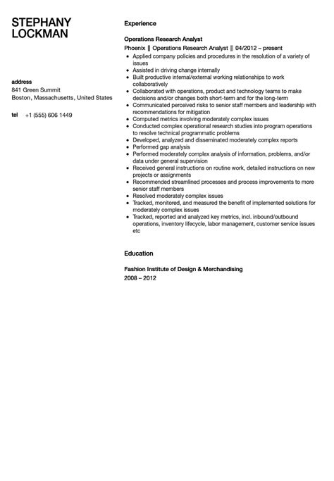 Operations Research Analyst Resume Sample  Velvet Jobs. Making A Good Resume. Difference Between A Cv And Resume. Driver Resume Example. Search Resumes Free. The Best Sample Of Resume. Resume Formats. Follow Up Email After Emailing Resume. Acting Resume Builder