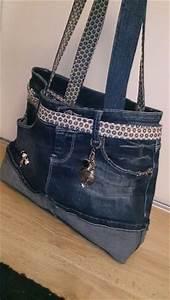 Que Faire Avec Des Vieux Jeans : sac a main avec un vieux jean ~ Melissatoandfro.com Idées de Décoration