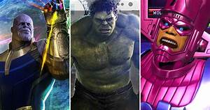 The, 25, Most, Powerful, Characters, In, The, Marvel, Universe