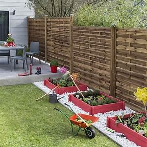 Cloture Jardin Bois : s 39 isoler au jardin nos solutions marie claire maison ~ Premium-room.com Idées de Décoration