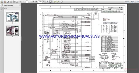 terex lift ta  electrical schematic wiring diagram parts manual auto repair manual forum