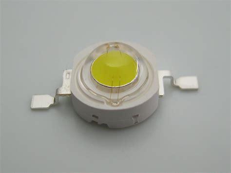 High Power Led Epistar Chip 1w Led Lamp 35mil 110lm-120lm