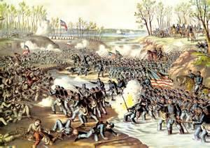 Civil War Shiloh Battle