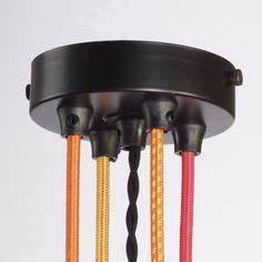 Suspension Multiple Luminaire : tuto diy montage d 39 une suspension multiple pavillons multi trous rosace luminaire ~ Melissatoandfro.com Idées de Décoration
