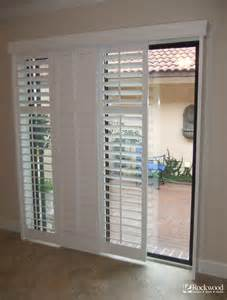 Custom Roll Up Patio Shades by Plantation Shutters For Sliding Glass Door Traditional