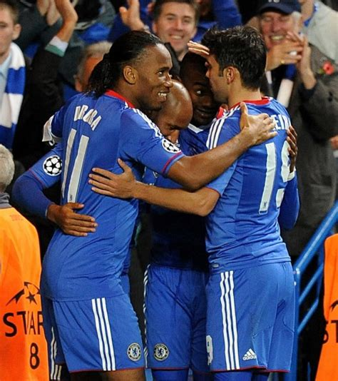 Soccer – UEFA Champions League – Group F – Chelsea v ...