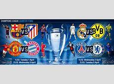 Champions League draw BarçaAtlético, Real Madrid