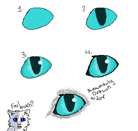 draw cat eyes tutorial  purrsians  deviantart