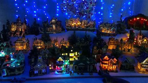 christmas village background wallpapers9