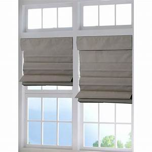perfect lift window treatment tan cordless fabric roman With cordless cloth blinds