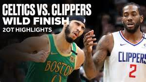 Clippers Vs. Celtics 2K19