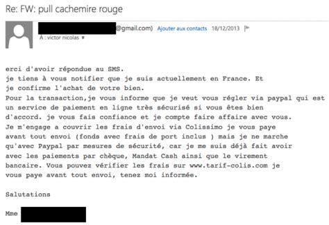 si鑒e auto le bon coin phishing l arnaque paypal qui se propage sur le bon coin 14 avril 2016 l 39 obs