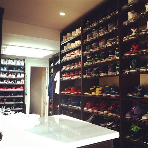 celebrity sneaker closets sole collector