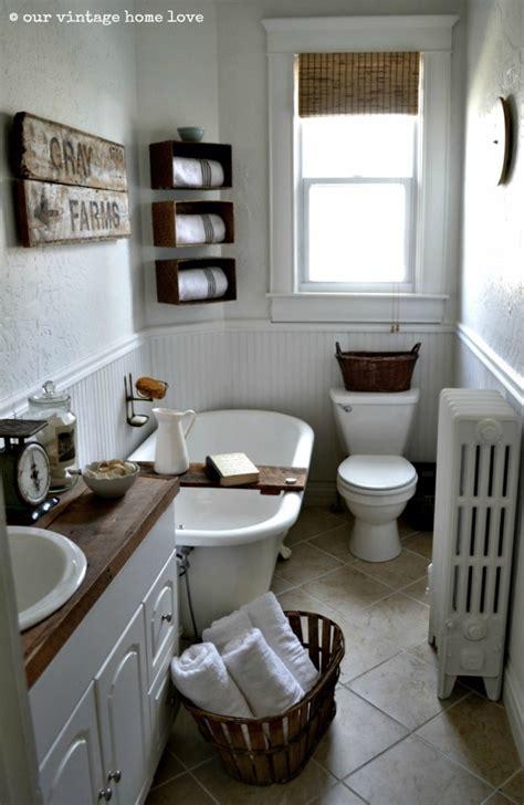 farm style bathroom our vintage home love farmhouse bathroom