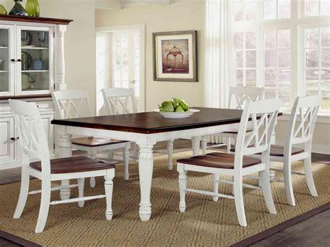 white kitchen table  chairs set decor ideas