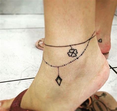 idees tatouage bracelet cheville le tattoo  la