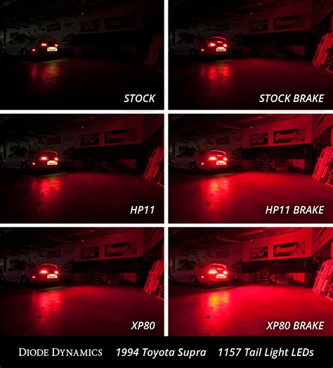 supra led tail lights toyota supra tail light leds plug play installation