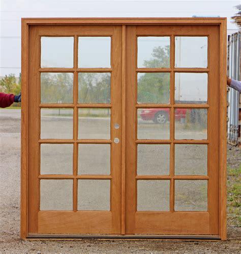 French Doors Exterior Brown French Doors Exterior