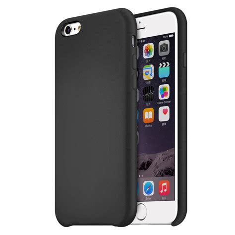 cases for iphone 6 iphone 6 original leather black