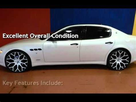 2009 Maserati Quattroporte For Sale by 2009 Maserati Quattroporte For Sale In