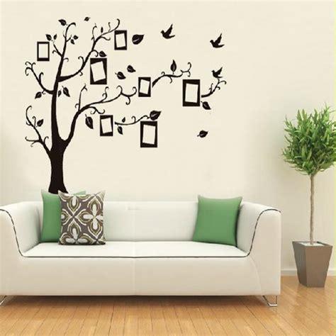 home decor wall sticker home black tree design wall