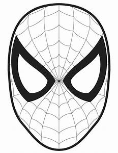 spiderman face template clipartsco With spiderman eyes template