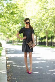 Little Black Dress Leather