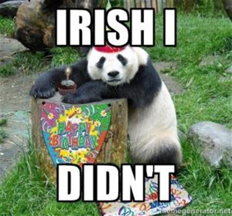 Irish Birthday Meme - funny irish birthday wishes kappit