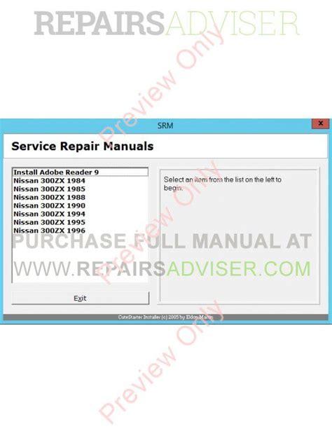service repair manual free download 1984 pontiac firefly free book repair manuals nissan 300zx 1984 1985 1988 1990 1994 1995 1996 service manual pdf download