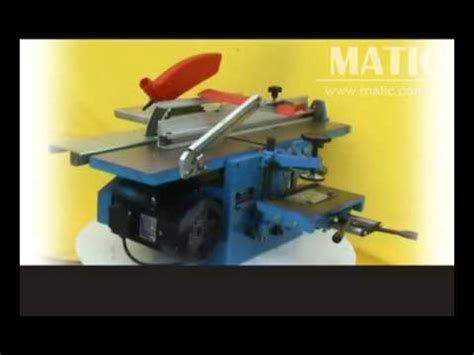multi  woodworking machinery mqa jaya youtube