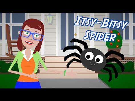 itsy bitsy spider song nursery rhymepreschool song