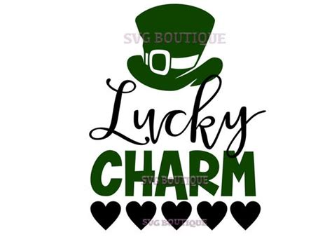 Dxf Png Lucky Charm Clover Svg Saint Patricks Da Irish