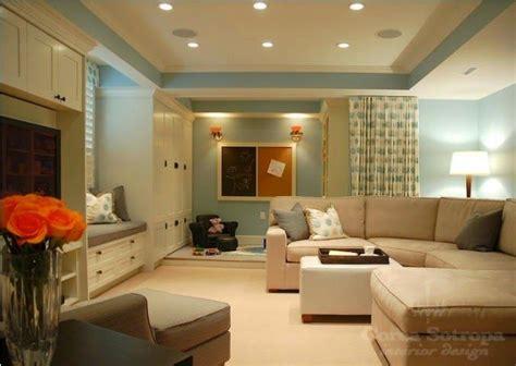 paint color ideas for basement family room basement