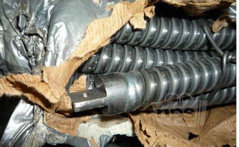 100 ft plumbing snake 100 ft em5 steel 3 4 quot diameter industrial plumbing