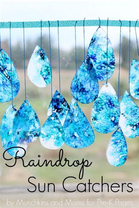 raindrop suncatchers weather crafts crafts for 206 | d77fb9d34c3b0e73541c6a1fb534be88