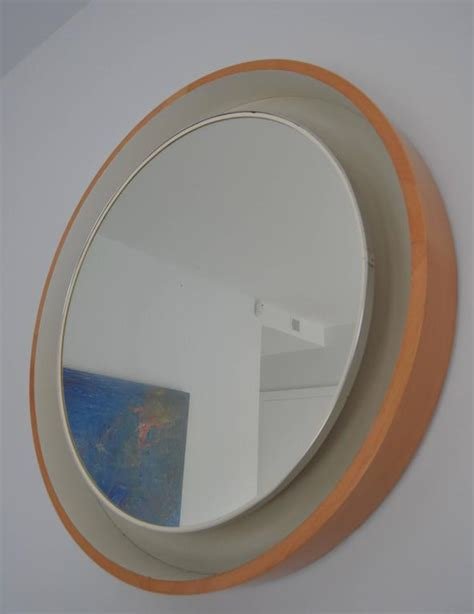 1970s large lighted mirror for sale at 1stdibs