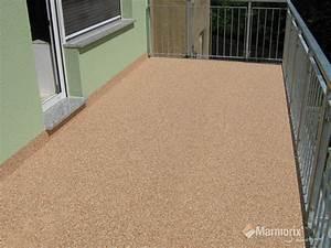 Bodenbelag Für Balkon : marmorix steinteppich verlegebeispiele au enbereich ~ Lizthompson.info Haus und Dekorationen