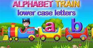 alphabet train for learning lowercase letters a b c d e f With alphabet train learning letters