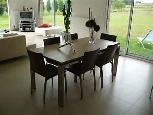 Table A Manger Salon : table a manger salon ~ Teatrodelosmanantiales.com Idées de Décoration