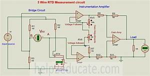 3 Wire Pt100 Wiring Diagram