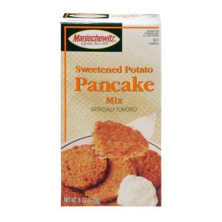 Mix mashed potatoes, egg, flour, salt, pepper, garlic, and any optional ingredients, into mashed potatoes. Manischewitz potato pancake mix instructions