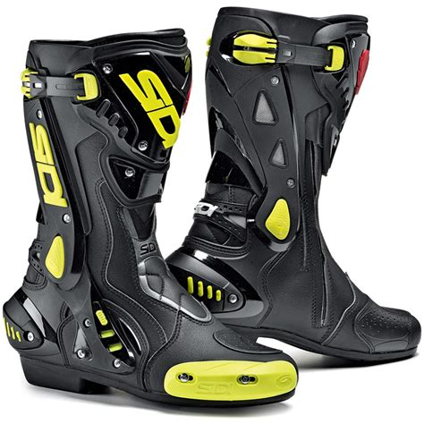moto racing boots sidi st motorcycle boots stealth sport racing biker boot